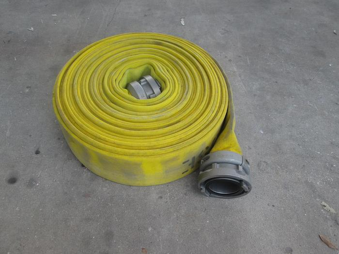 "Used 6"" Fire Attack Hose 100'"