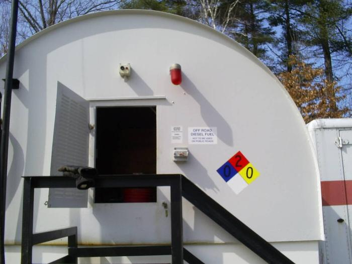 Used HIGHLAND 8,000 Gallon Above Ground Tank