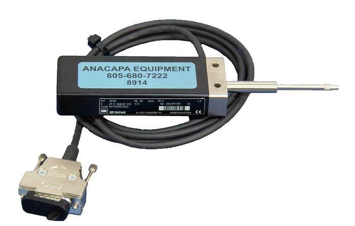 Used RSF Elektronik DIT 30.81 Precision Measuring Probes Encoder A-5121 w/ Tip (8914)
