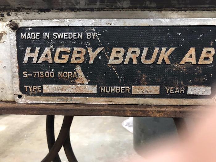 1985 Hagby Hagby Onram 1000 underground diamond drill