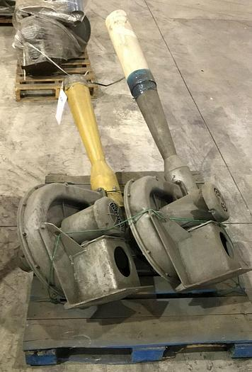 Used VENTURI BLOWERS 2300 TURBO BLOWER 2HP MOTORS 11 AVAILABLE