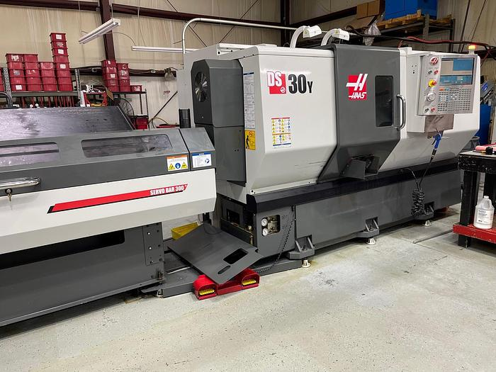 Used 2013 Haas DS-30Y CNC Turning Center