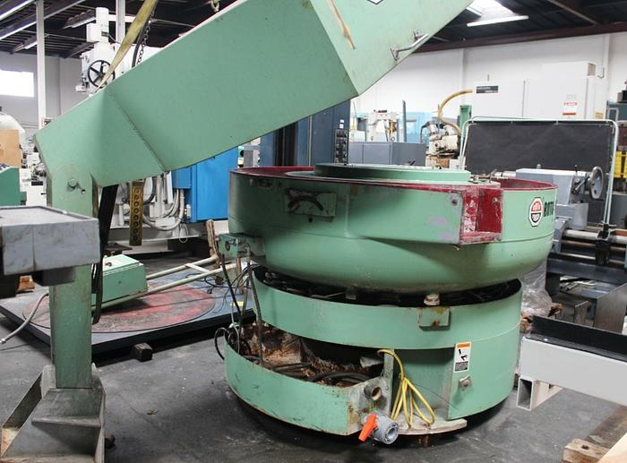 Used Roto Finish Bowl Type Vibratory Finishing Mill 8 Cubic Feet