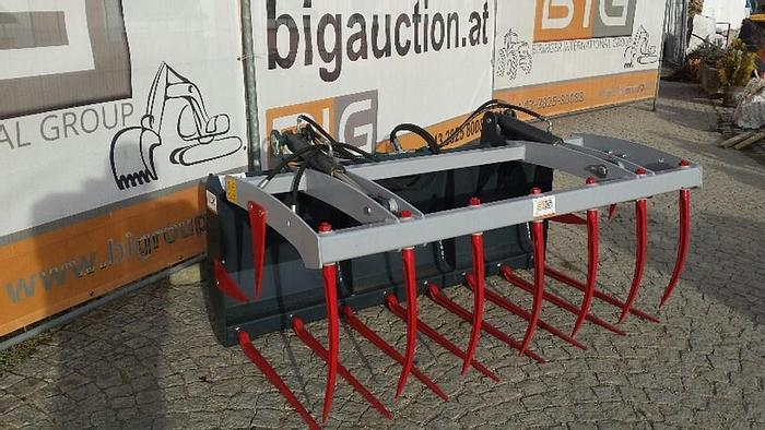 Krokodilzange 210 cm passend zu JCB 520-50 Aufnahme