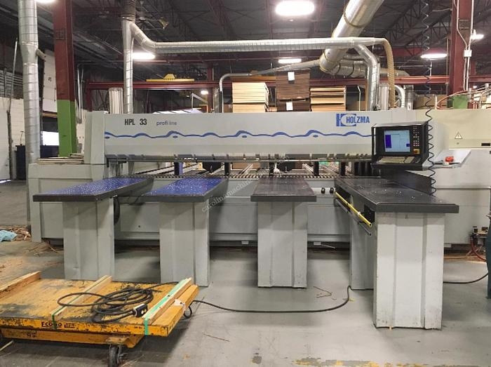 Used Holzma HPL 33 Rear Loading Panel Saw