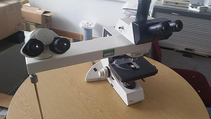Used Leica BMLB Teaching Biological Microscope