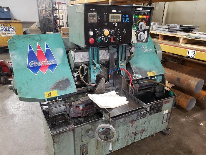 2013 Peerless Horizontal Band Saw