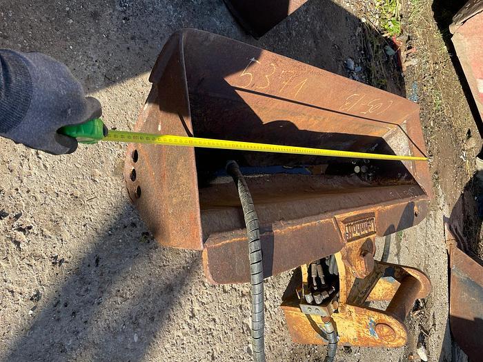 Gebraucht Böschungslöffel 120 cm mit Lehnhoff MS03 Aufnahme