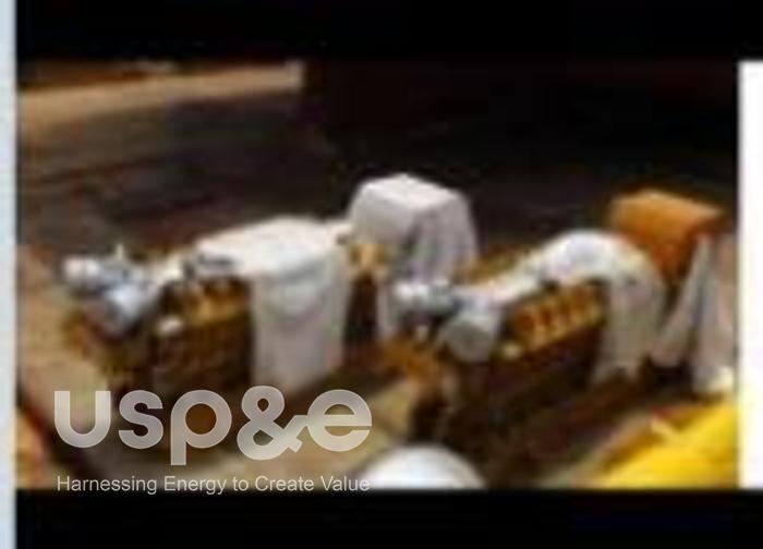46.2 MW 2013 New Caterpillar 16CM32C Diesel Generator Sets