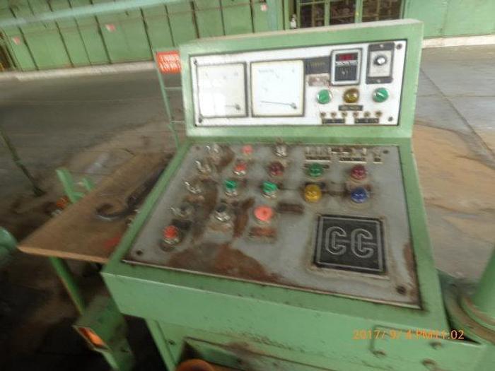 Usata Horizontal slicer machine Colombo e Cremona working size 4000 mm