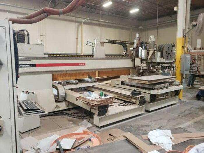 MORBIDELLI PLANET ST-SUPER-HP CNC, DRILLING, ROUTING, EDGEBANDING MACHINE