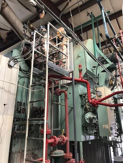 Used 1996 Nebraska Boilers steam boiler 90,000 Pounds  1996