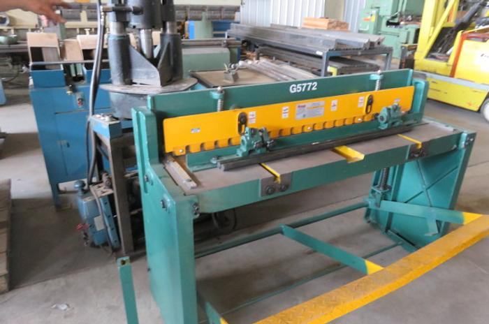 Grizzly Model G5772 Metal Shear G5772
