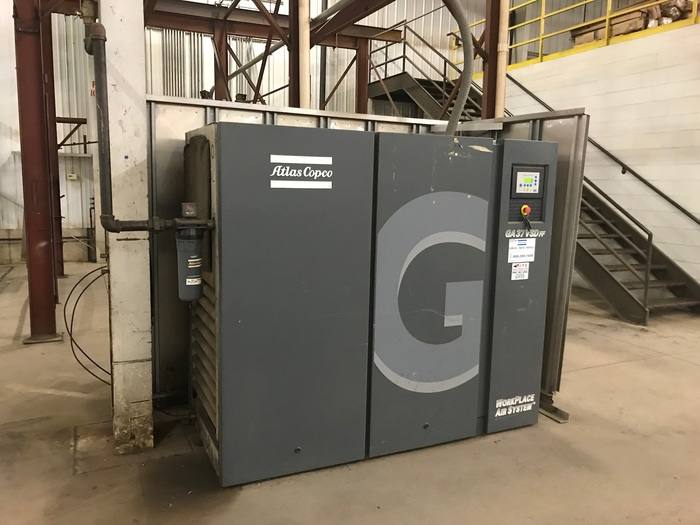 Atlas Copco GA 37 VSD FF Rotary Screw Air Compressor