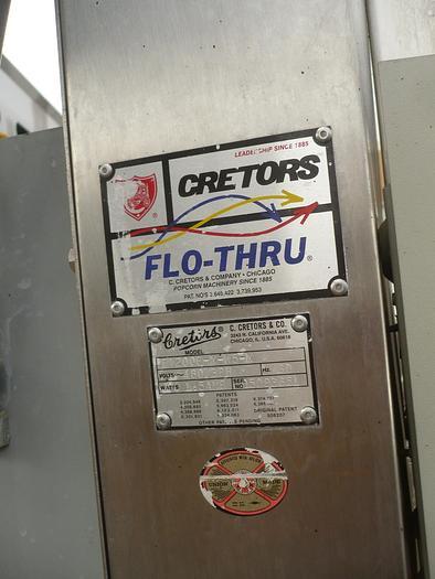 Cretors Popcorn Line