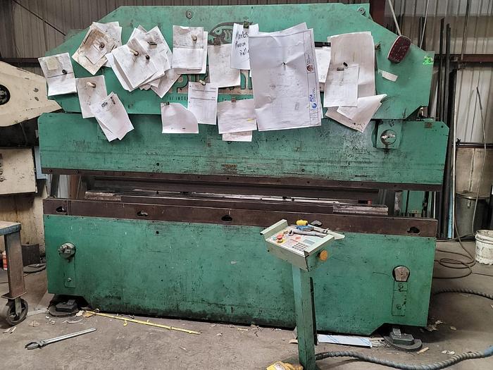 Used 95 Ton x 10' Piranha CNC Hydraulic Press Brake