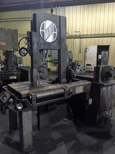 """18"""" x 25"""" Marvel 81 Vertical Band Saw, 1978"""
