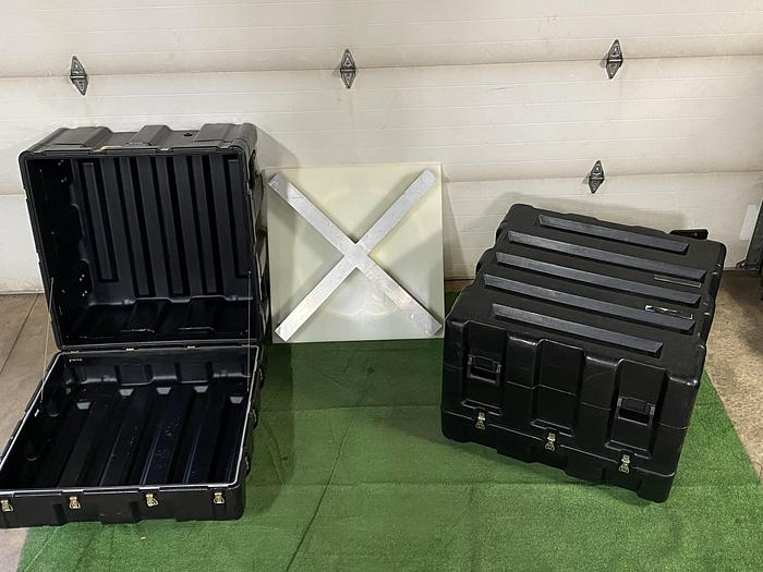 Used Black Pelican Pallet Cases