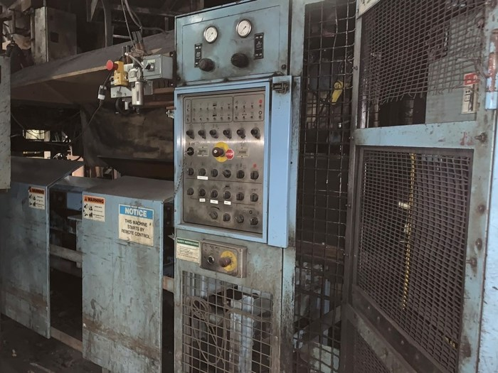 1994 DISAmatic  2110 Mk2 FLASKLESS AUTOMATIC MOLDING LINE