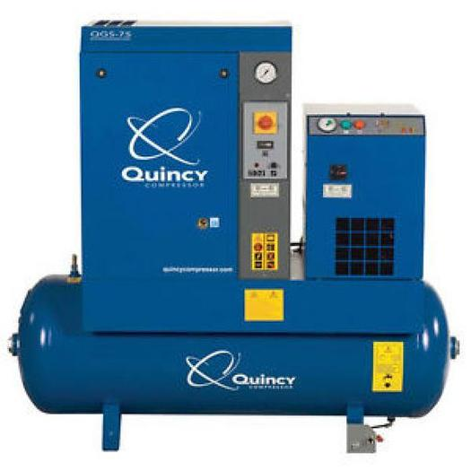 Used Quincy QGS-7.5 Air Compressor System