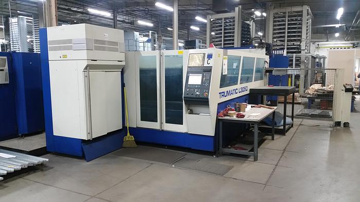 Used 2004 5000 Watt Trumpf L-3050 CNC Laser Cutting Machine