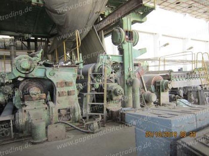 (PM2-91) - Paper Machine Fourdrinier - 2550mm