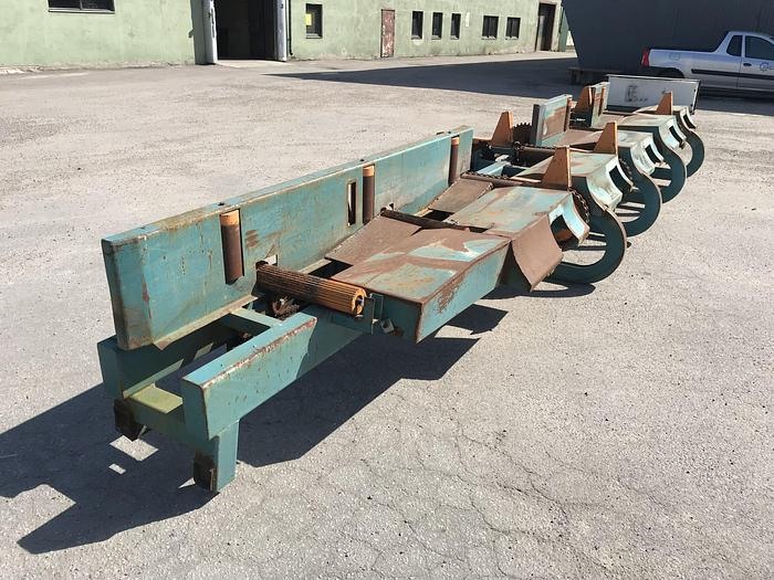 Used Roller conveyor after saw