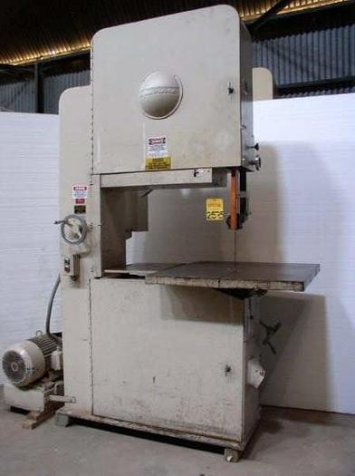 "Used 36"" Tannewitz Model G1NE Vertical Band Saw"