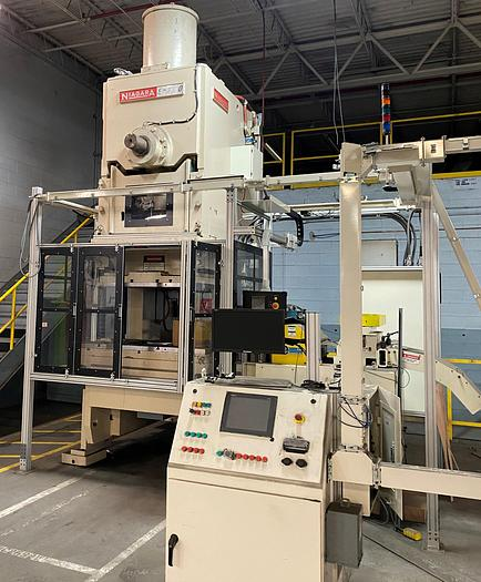 Used 275 ton Niagara Gap Frame Mechanical Press