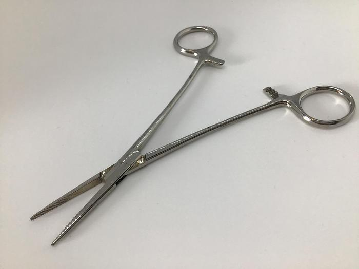 Used Forceps Artery Kilner Mosquito Straight 150mm