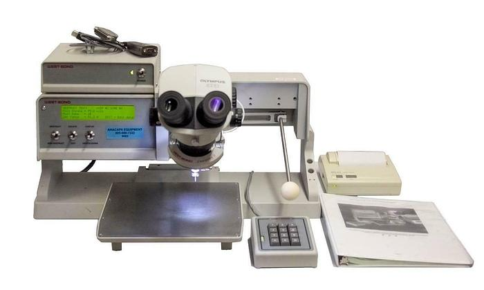 Used West Bond 70PTE Wire Bond Pull Tester w/ Power Supply + Keypad USED (9083)R