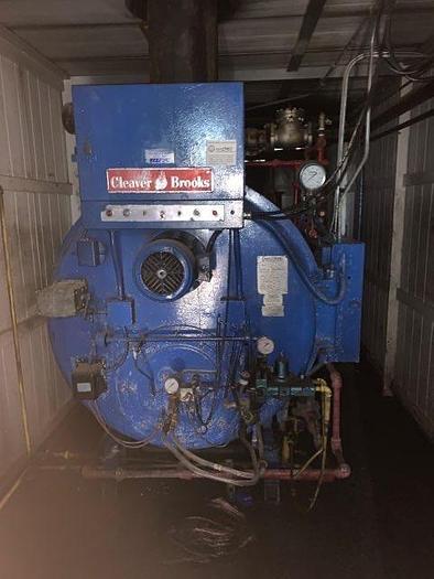 Used 1978 Cleaver Brooks 100 HP 100 PSI Steam Boiler Rental Boiler  CB-100-100