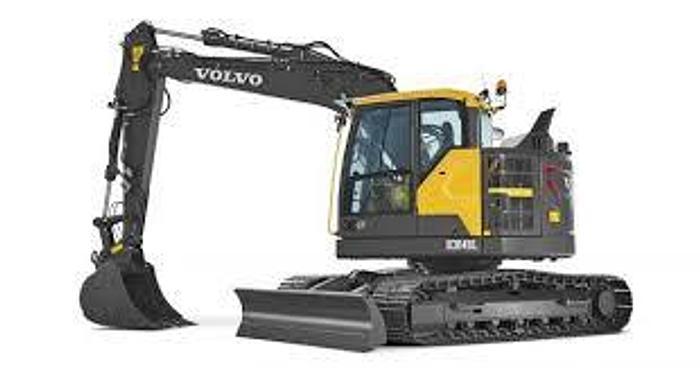 Usato Volvo ECR145E BRACCIO TRIPLICE