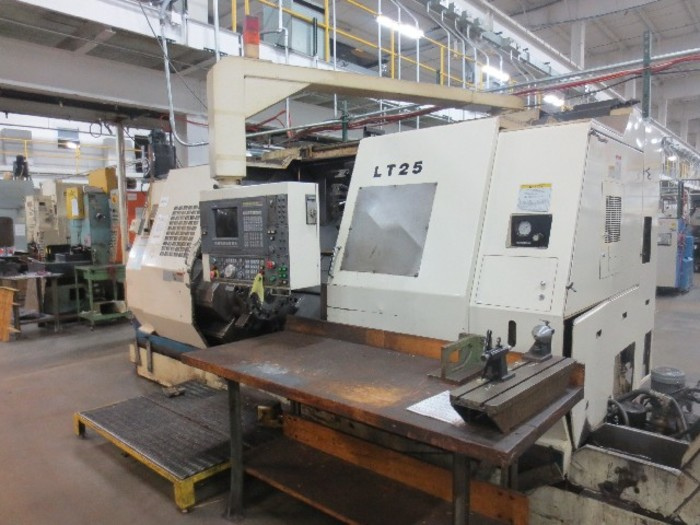 Okuma LT-25 Cnc Turning Center with Dual Spindle and Turrets
