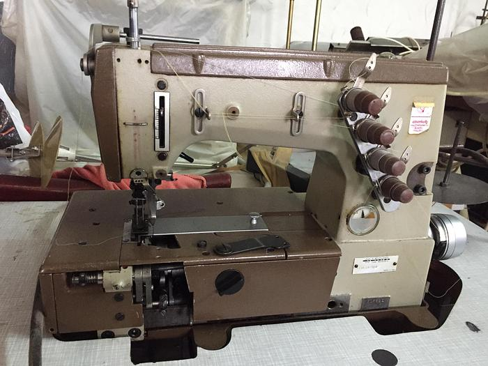 Gebraucht 3-Nadeldoppelkettenstich LINDER  LPO-34-284 3 Nd.
