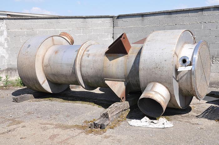 Usata Scambiatore di calore O.C.S.  S.p.A. da 366,6 metri quadrati