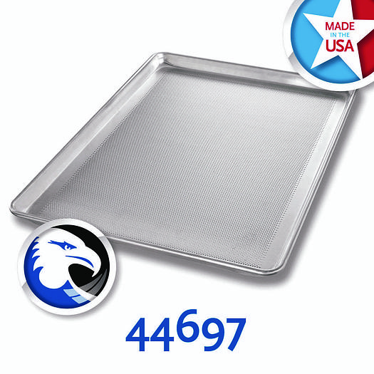 PERFORATED ALUMINUM FULL-SIZED SHEET PANS