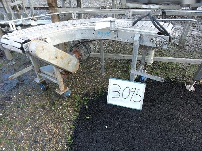 Used 90 Degree Table Top Chain Conveyor #3095