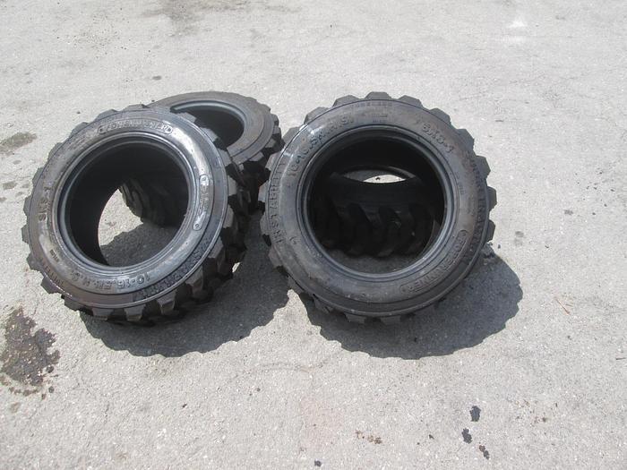 Used 10-16.5 Skid Steer Tires