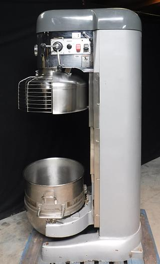 Used USED HOBART® TALL-BOY 140-QUART MIXER WITH BOWL GUARD, MODEL NO. V-1401
