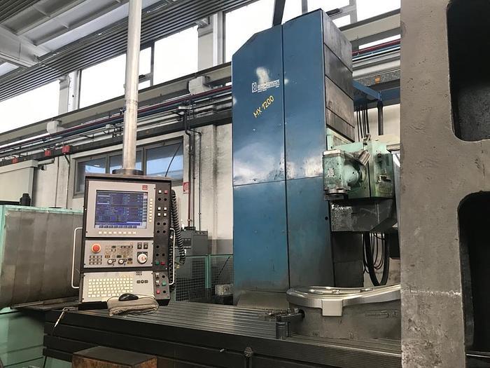 FRESATRICE A BANCO FISSO SACHMAN MX 1200 CNC