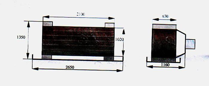 Używane Chłodnice amoniakalne z wentylatorami SOW 13-2A-P 144 ,2 - nr 5