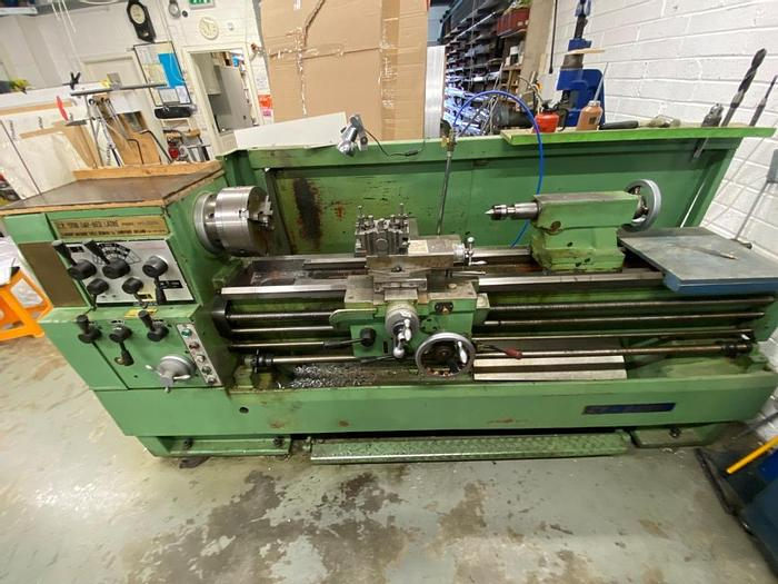 Used YMT(Yunnan Machine Tools) CY - S1760G Gap Bed Manual Center Lathe