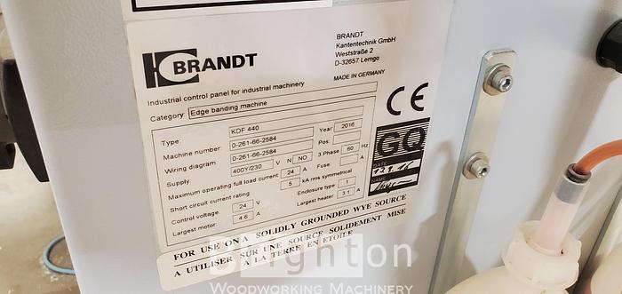 2016 Homag Brandt KDF 440C