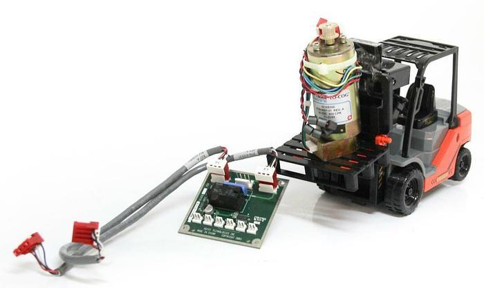 Used Pittman 9236E466 Mini Motor 9700-8861-01 Rev. A & Asyst 3200-1212-01 PCB (4241)