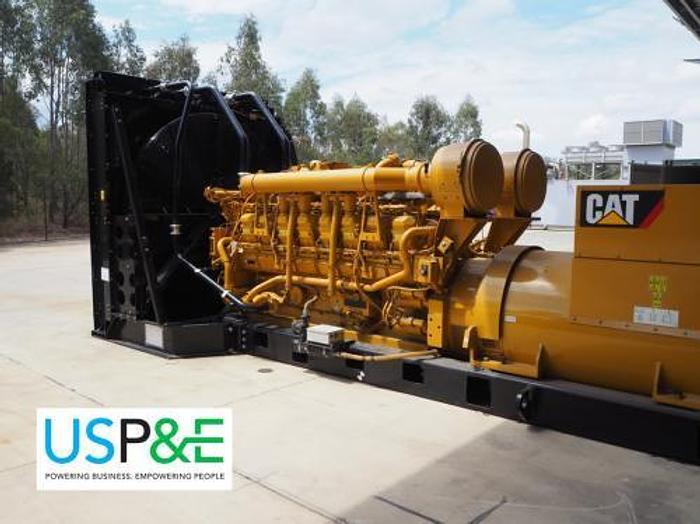 1.82 MW 2011 New Caterpillar 3516B Diesel Generator
