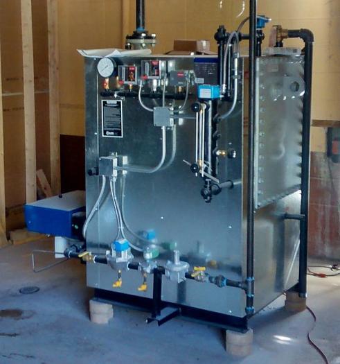 Ajax Boiler Low pressure process 15 PSI Process Boiler
