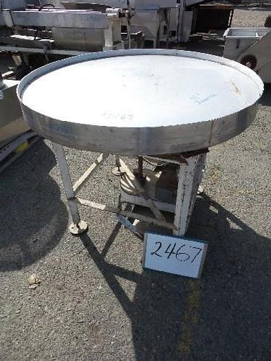 48'' Diameter Stainless Steel Rotary Pack-Off Table
