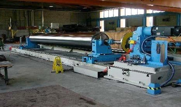 Used (EMA-15) - Roll Grinder - 10.000mm - Waldrich, Germany