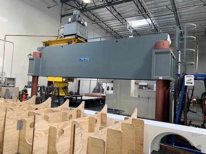 Used Pagnoni Hydraulic Straightening Press  #5832